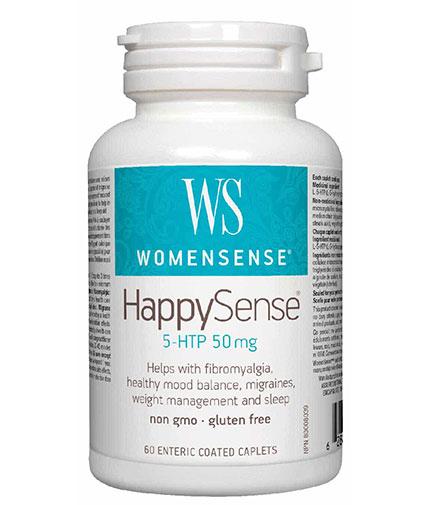 NATURAL FACTORS WomenSense HappySense 50mg / 60 Caps