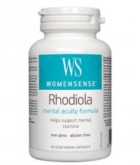 NATURAL FACTORS WomenSense Rhodiola 500mg / 60 Vcaps
