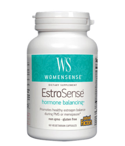 NATURAL FACTORS WomenSense EstroSense 343mg / 60 Vcaps