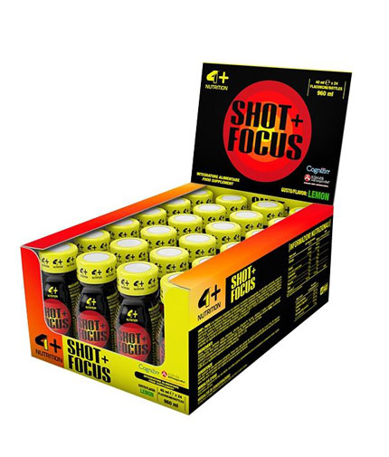 4+ NUTRITION Shot Focus + / 24x40ml