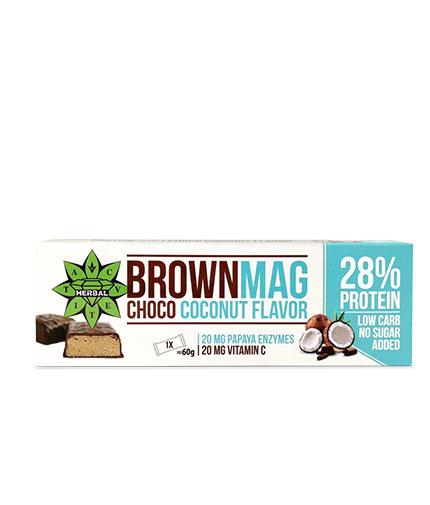 CVETITA HERBAL BrownMag Bar Coconut / 60g