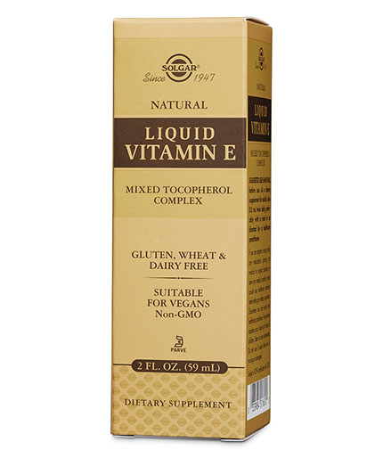 SOLGAR Liquid Vitamin E / 59ml