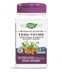 NATURES WAY Fenu-Thyme / 100 Vcaps
