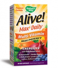 NATURES WAY Alive! Max Daily Multi / 90 Vcaps