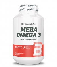BIOTECH USA Mega Omega 3 / 180 Softgels