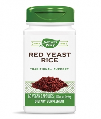NATURES WAY Red Yeast Rice 600mg / 60 Vcaps