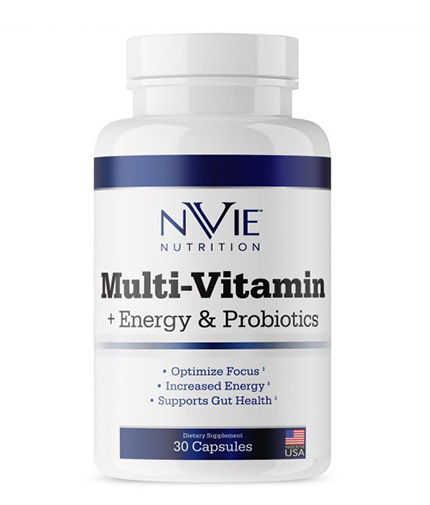 NVIE NUTRITION Multi Vitamin + Selenium and Probiotic / 30 Caps