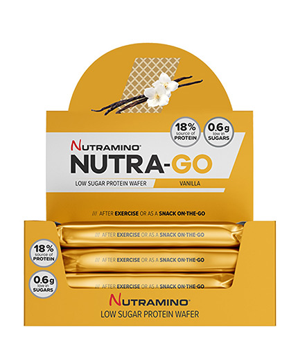NUTRAMINO Nutra-Go Protein Wafer Box 12x39g