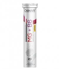 OSTROVIT PHARMA Magnesium / MG + B6 / 20 Effervescent Tabs