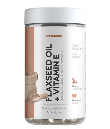 PROZIS Flaxseed Oil + Vitamin E / 60 Softgels