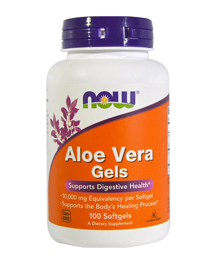 NOW Aloe Vera / 100 Softgels