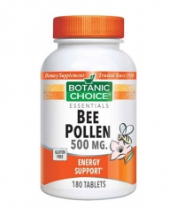 BOTANIC CHOICE Bee Pollen Tablets 500mg / 180 Tabs