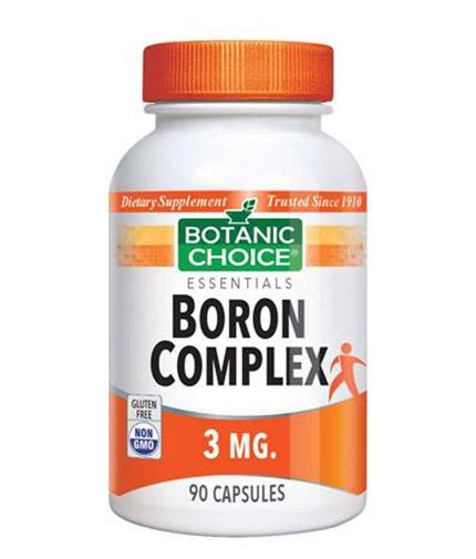 BOTANIC CHOICE Boron Complex 3mg / 90 Caps