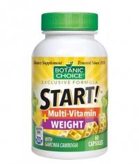 BOTANIC CHOICE START Multi-Vitamin Weight / 60 Vcaps