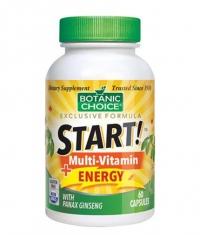 BOTANIC CHOICE START Multi-Vitamin Energy / 60 Vcaps