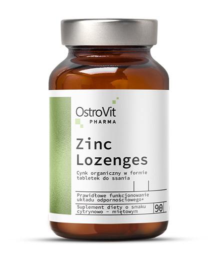 OSTROVIT PHARMA Zinc Lozenges + Vitamin C / 90 Tabs