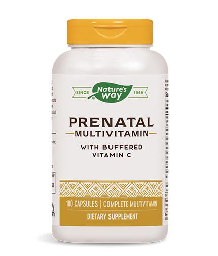 NATURES WAY Prenatal Complete / 180 Caps