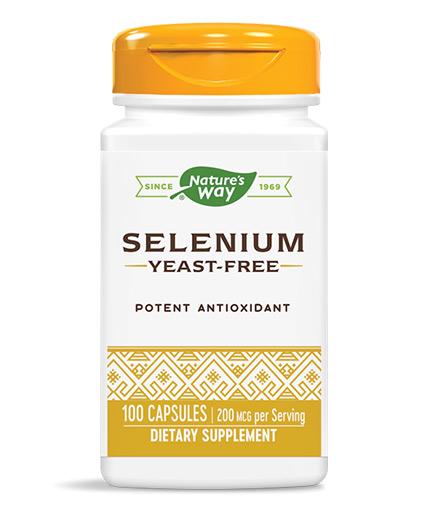 NATURES WAY Selenium 200mcg / 100 Caps