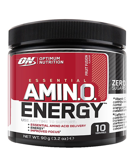 OPTIMUM NUTRITION Amino Energy TRIAL SIZE - 10 serv. / 90 gr.