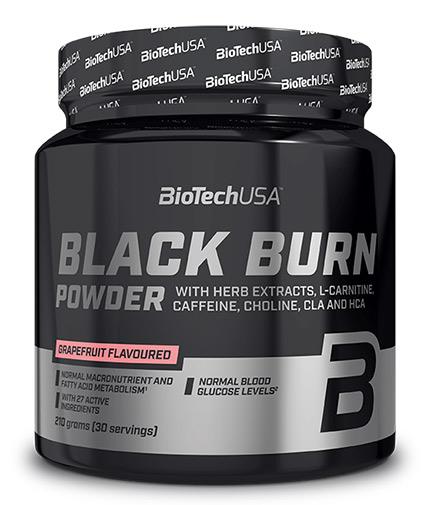 BIOTECH USA Black Burn Drink Powder