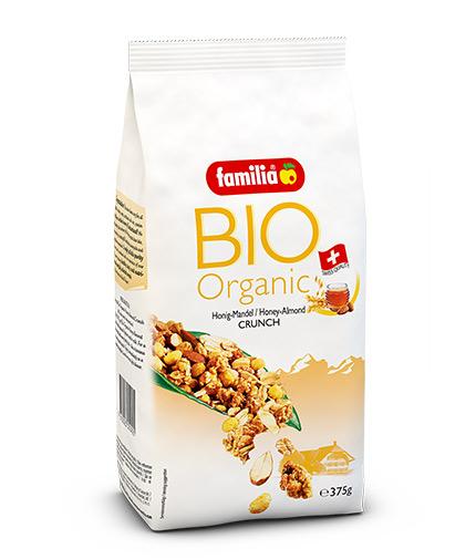 FAMILIA BioOrganic Honey-Almond Crunch