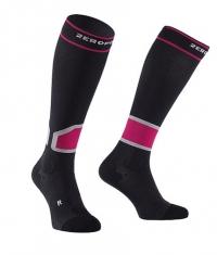 ZEROPOINT Intense Socks / Black Pink
