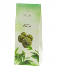 NOURI 10 Healthy Balls Matcha Green Tea