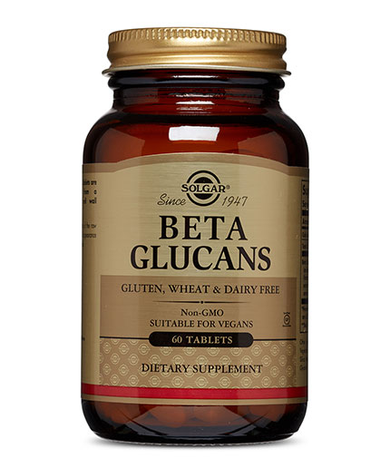SOLGAR Beta Glucans / 60 Tabs