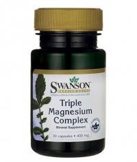 SWANSON Triple Magnesium Complex 400 mg / 30 Caps