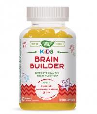 NATURES WAY Kids Brain Builder / 40 Gummies