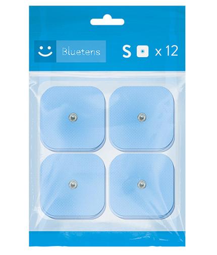 BLUETENS Electrodes / Size S / 12 Pieces