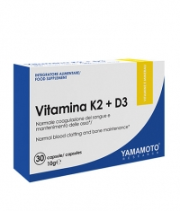 YAMAMOTO Vitamin K2+D3 / 30 Caps