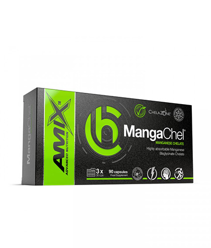 AMIX ChelaZone® MangaChel® Manganese Bisglycinate Chelate / 90 Vcaps