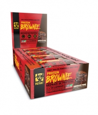 MUTANT Protein Brownie Box / 12x58 g