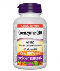 WEBBER NATURALS Coenzyme Q10 60 mg / 60 Caps