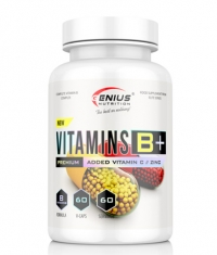 GENIUS NUTRITION VITAMIN B+ / 60 Caps