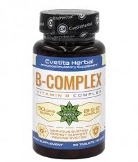 CVETITA HERBAL Vitamin B Complex / 90 Tabs