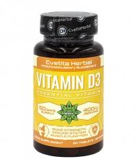 CVETITA HERBAL Vitamin D-3 / 60 Tabs