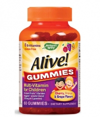 NATURES WAY Alive! Children's Multi-Vitamin Gummy / 60 Gummies
