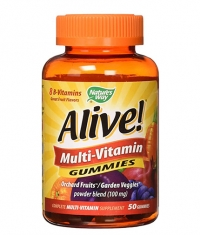 NATURES WAY Alive! Multi-Vitamin Gummies / 50 Gummies