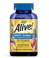 NATURES WAY Alive! Men's Gummy Complete Multivitamin / 60 Gummies