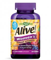 NATURES WAY Alive! Women's Gummy Vitamin / 60 Gummies