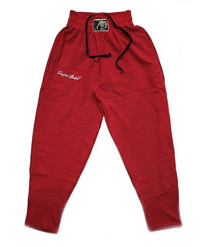 STEFAN BOTEV Sweatpants / Red