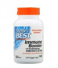 DOCTOR'S BEST Immune Booster with Echinacea, Elderberry extract and Zinc / 120 Caps