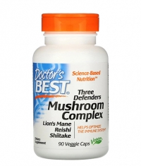 DOCTOR'S BEST Three Defenders Mushroom Complex / 90 Caps