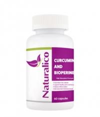 NATURALICO Curcumin and Bioperine / 60 Softgels