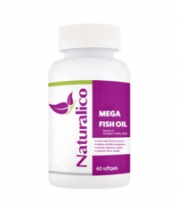 NATURALICO Mega Fish Oil 1000 mg / 60 Softgels