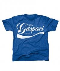 GASPARI T-Shirt Enjoy Gaspari / Blue