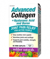 WEBBER NATURALS Advanced Collagen + Hyaluronic Acid and Boron / 40 Caps