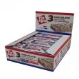 FIT SPO 3 Chocolate Crispy Layered High Protein Bar Box / 12x55g